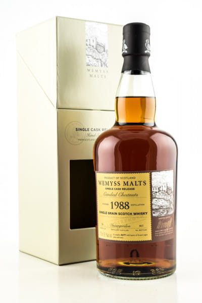 """Candied Chestnuts"" 1988 Single Sherry Butt Invergordon Wemyss Malts 55,1%vol. 0,7l"