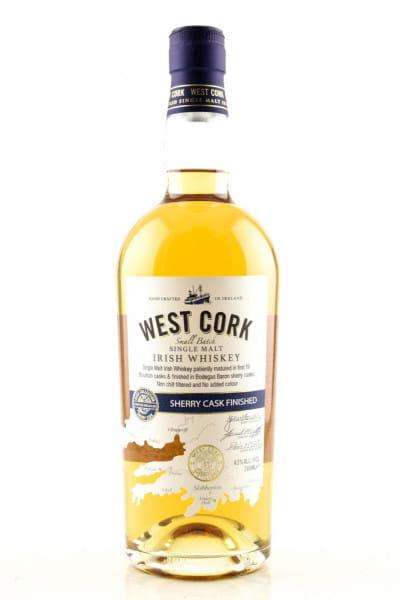 West Cork Sherry Cask Finished 43%vol. 0,7l