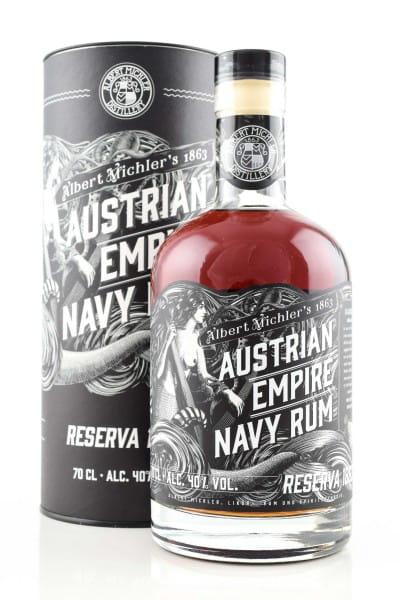 Austrian Empire Navy Rum Reserva 1863 40%vol. 0,7l