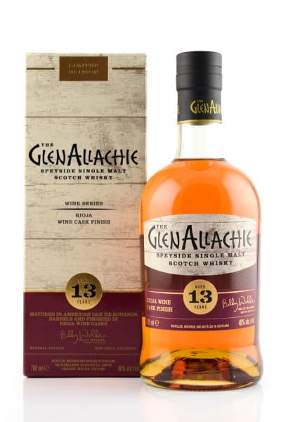 GlenAllachie 13 Jahre Rioja Wine Cask Finish 48%vol. 0,7l