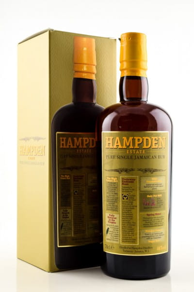 Hampden Estate Pure Single Rum 46%vol. 0,7l