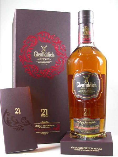 Glenfiddich 21 Jahre Gran Reserva Rum Cask Finish 40%vol. 0,7l