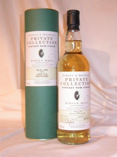 Caol Ila 90/05 Rum Finish Gordon & MacPhail 45%vol. 0,7l