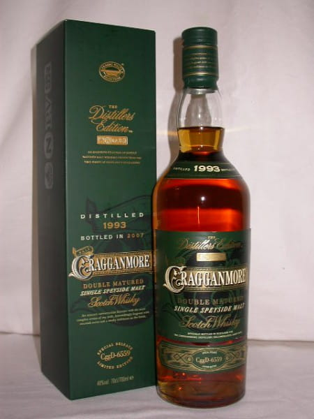 Cragganmore 1993/2007 Distillers Edition 40%vol. 0,7l