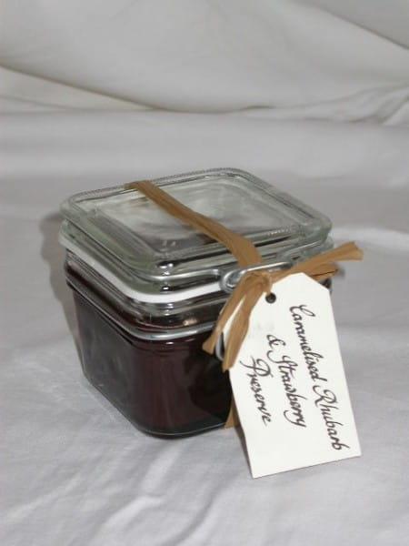 Caramelised Rhubarb & Strawberry Preserve 227g
