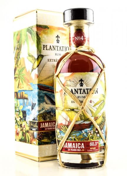 Plantation Extreme No. 4 Jamaica 24 Jahre 60,3%vol. 0,7l