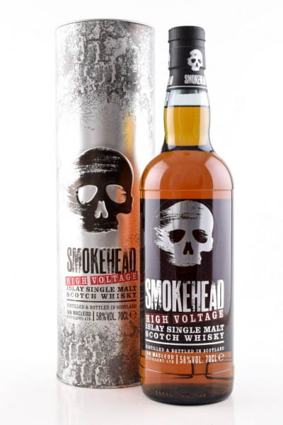 Smokehead High Voltage 58%vol. 0,7l