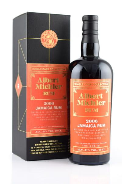 Albert Michler Single Cask Collection Jamaica 2006/2020 51%vol. 0,7l