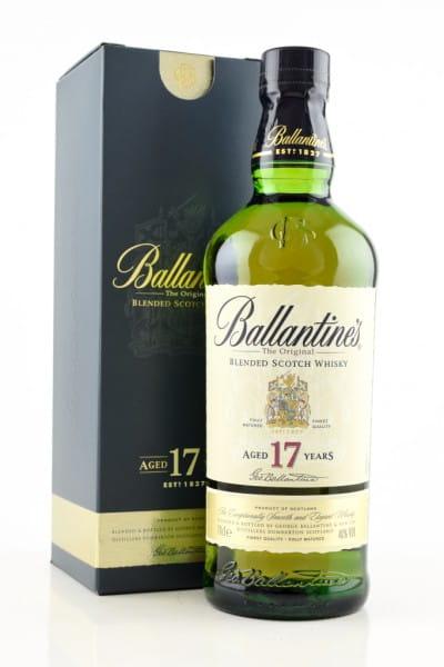 Ballantine's 17 Jahre 40%vol. 0,7l