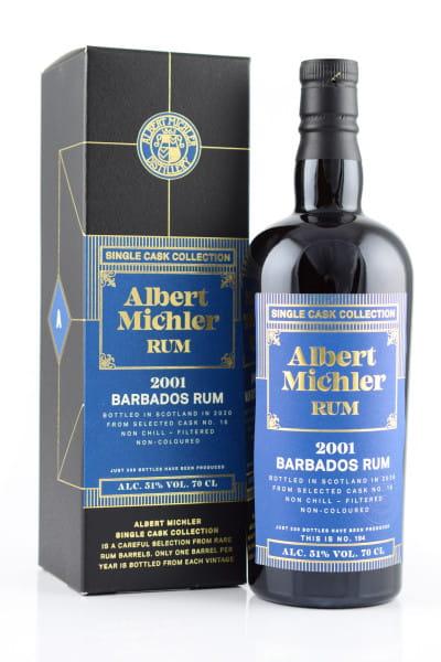 Albert Michler Single Cask Collection Barbados 2001/2020 51%vol. 0,7l