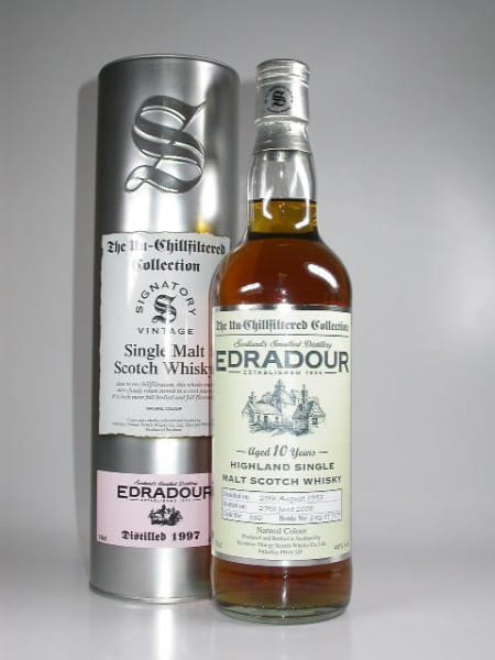 Edradour 10 Jahre 97/08 Single Cask Signatory 46%vol. 0,7l