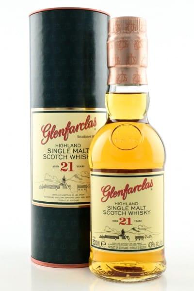 Glenfarclas 21 Jahre 43%vol. 0,2l