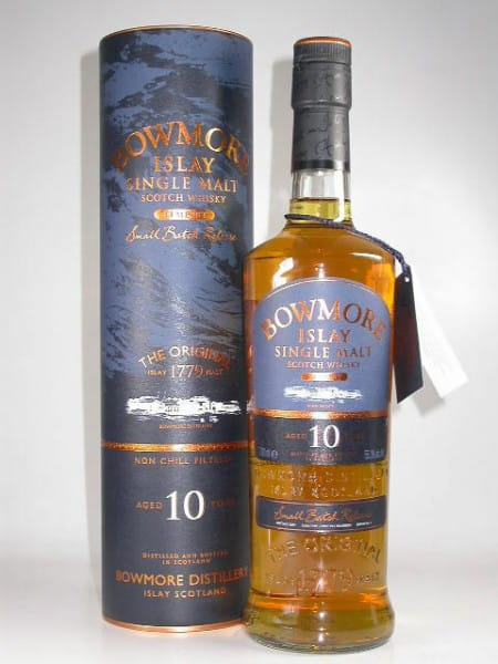 Bowmore Tempest 10 Jahre Batch #1 Bottled 2009 1st-fill Bourbon 55,3%vol. 0,7l