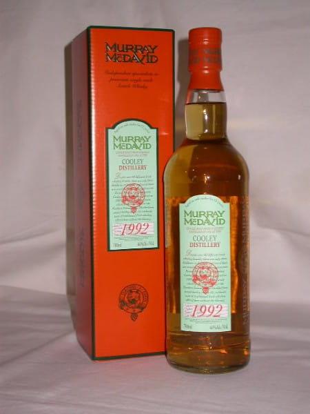 Cooley 1992/2004 Fresh Bourbon Murray McDavid 46%vol. 0,7l