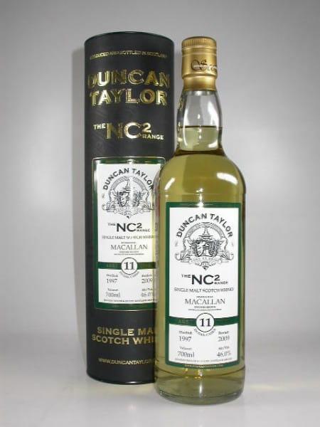 Macallan 1997/2009 The NC2-Range Duncan Taylor 46%vol. 0,7l