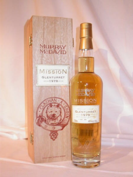 Glenturret 1978/2005 Murray McDavid Mission V 46%vol. 0,7l