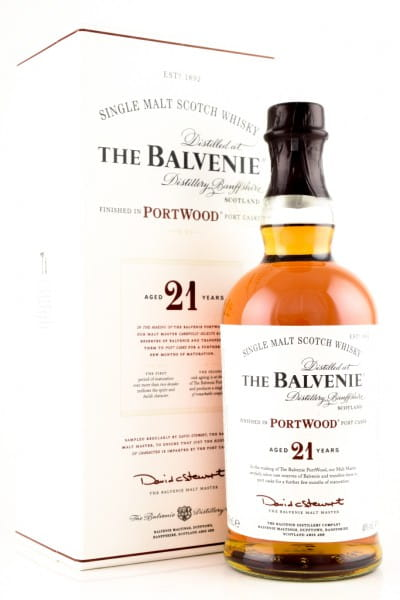 Balvenie 21 Jahre Port Wood 40%vol. 0,7l