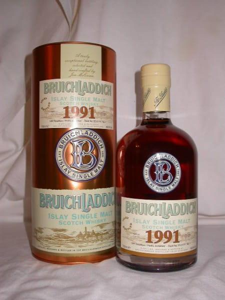 Bruichladdich 1991/2007 Bourbon/Pedro Ximénez Single Cask 49,4%vol. 0,7l