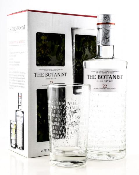 The Botanist - Islay Dry Gin 46%vol. 0,7l mit Glas