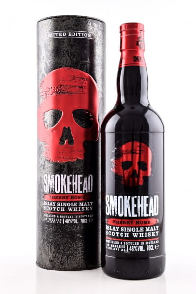 Smokehead Sherry Bomb Limited Edition 48%vol. 0,7l