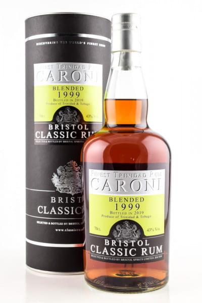 Caroni 1999/2019 Bristol Classic Rum 43%vol. 0,7l