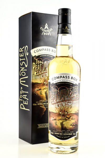 The Peat Monster Compass Box 46%vol. 0,7l
