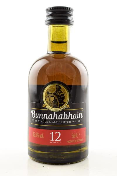 Bunnahabhain 12 Jahre 46,3%vol. 0,05l