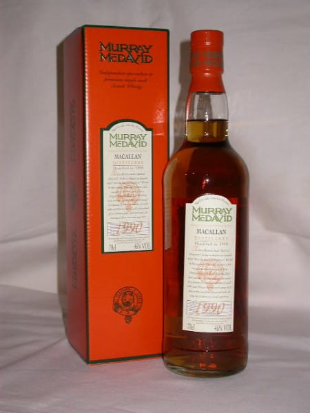 Macallan 1990/2001 Fresh Sherry Murray McDavid 46%vol. 0,7l