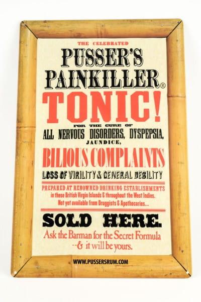 Pusser's Rum - Painkiller Blechschild