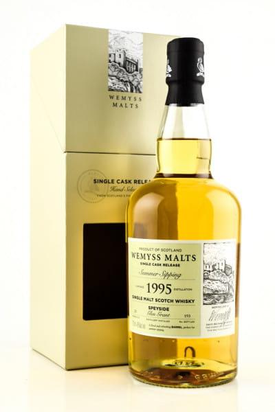 """Summer Sipping"" 1995/2019 Bourbon Barrel Glen Grant Wemyss Malts 46%vol. 0,7l"
