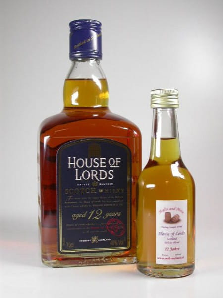 House of Lords 12 Jahre 40%vol. Sample 0,1l