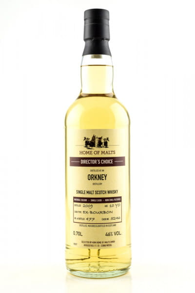 Orkney 10 Jahre 2009/2020 Director's Choice Home of Malts 46%vol. 0,7l