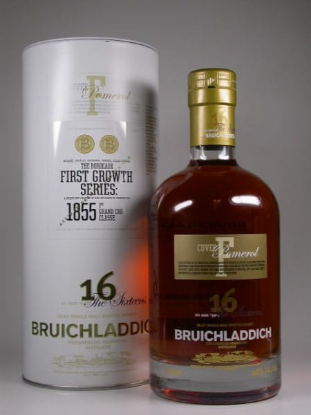 Bruichladdich First Growth Series 16 Jahre Cuvee F Pomerol 46%vol. 0,7l