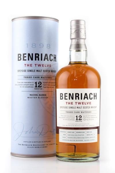 Benriach 12 Jahre Three Cask Matured 46%vol. 0,7l