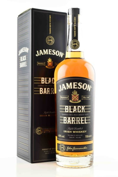 Jameson Black Barrel 40%vol. 0,7l