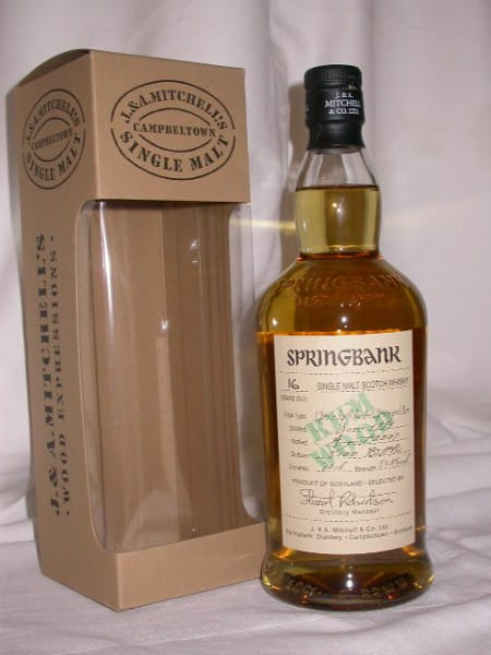 Springbank 1991/2007 Rum Wood 54,2%vol. 0,7l