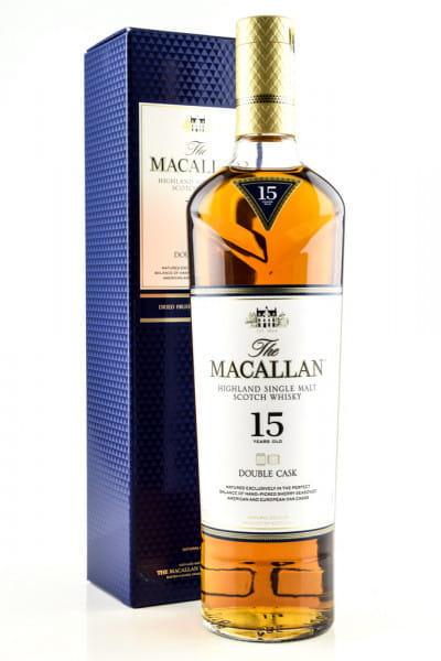 Macallan 15 Jahre Double Cask 43%vol. 0,7l