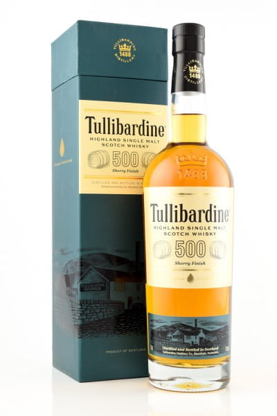 Tullibardine 500 Sherry Finish 43%vol. 0,7l