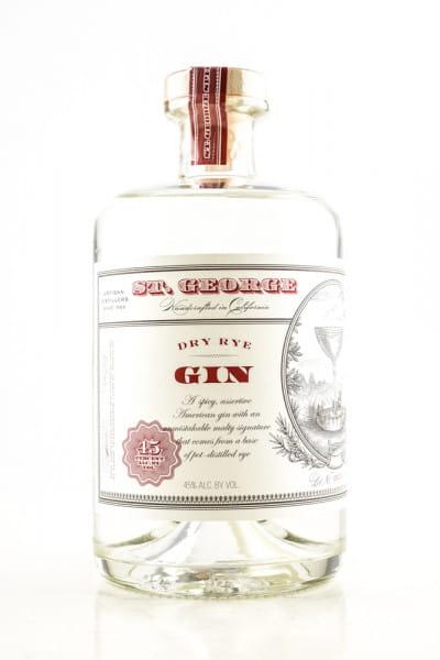 St George Dry Rye Gin 45%vol. 0,7l
