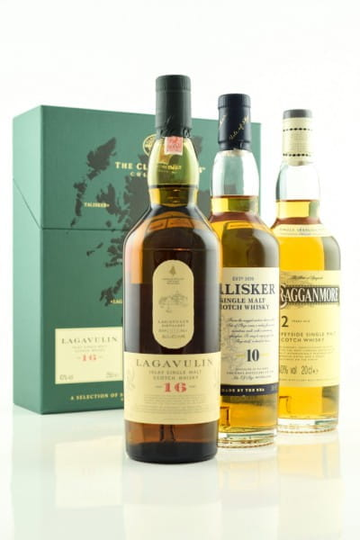 Classic Malts Collection Strong Lagavulin/Talisker/Cragganmore 3x0,2l