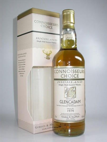 Glencadam 1974/2007 Gordon & MacPhail Connoisseurs Ch. 43%vol. 0,7l