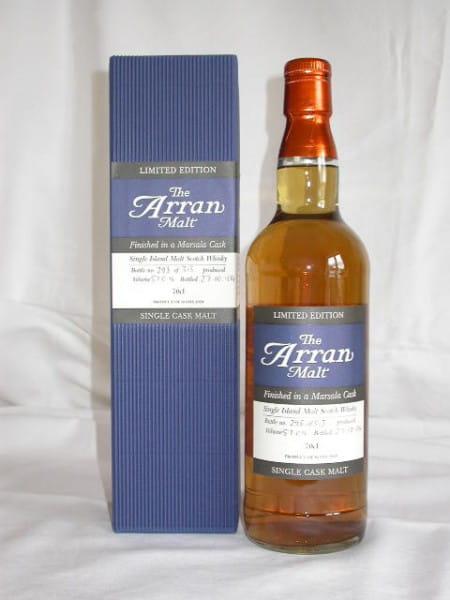 Arran Marsala Finish Limited Edition 57%vol. 0,7l