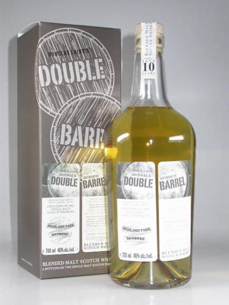 Double Barrel 10 Jahre - Highland Park & Bowmore Douglas Laing 46%vol. 0,7l