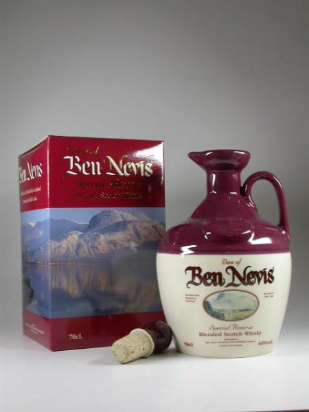 Dew of Ben Nevis Special Reserve Keramik-Krug Winter 40%vol.0,7l