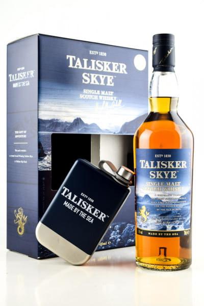 Talisker Skye 45,8%vol. 0,7l - mit Hip Flask