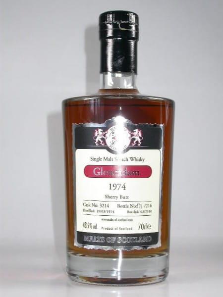 Glencadam 1974/2010 Sherry Butt Malts of Scotland 48,9%vol. 0,7l