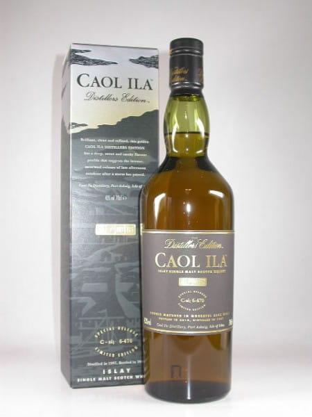 Caol Ila 1997/2010 Distillers Edition 43%vol. 0,7l
