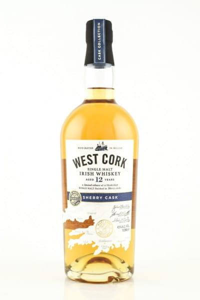 West Cork 12 Jahre Sherry Cask 43%vol. 0,7l