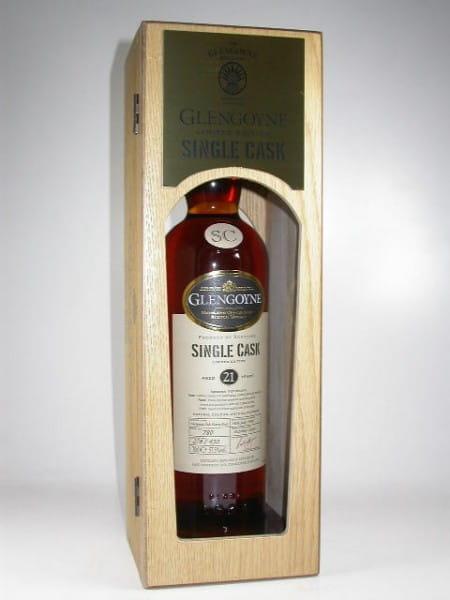Glengoyne 21 Jahre 1988/2009 European Oak Sherry Butt Single Cask 57,5%vol. 0,7l