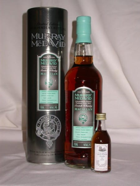 Macallan 87/05 Bourbon/Madeira Murray McDavid 46%vol.Sample0,05l